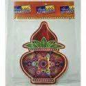 Holographic Regular Fancy Diwali Sticker