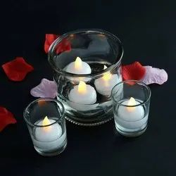 Round LED Water Sensor Floating Candle, Small