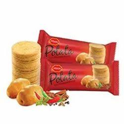 Potato Pran Potata Biscuits, Packaging Type: Box, Packaging Size: Carton