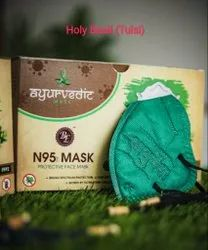 BE Reusable N95 Mask Ayurvedic Tulsi And Haldi Fragrance Face Mask, Certification: Fda Who Gmp Iso Ce, Number of Layers: 6