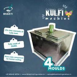 4 Moulds Khoya Kulfi Making Machine