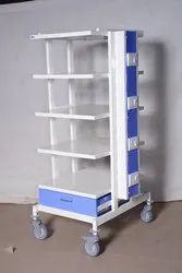 Plastic Laparoscopic Trolley
