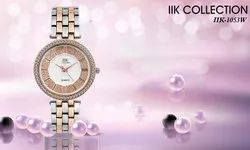IIK Women Ladies Silver Watches, For Daily