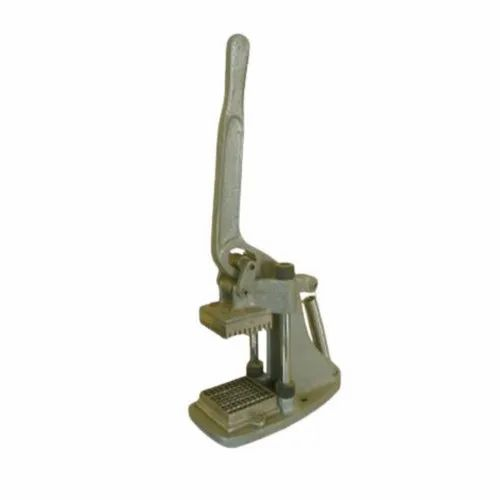 Silver Mild Steel Commercial French Fry Cutter, Aggarwal Distributors | ID:  22534248030