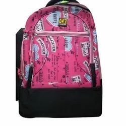 Classic Bag Non Woven Printed College Backpack