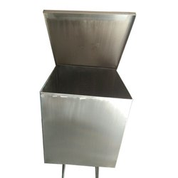 Stainless Steel Canisters, 12x12x20 Inch