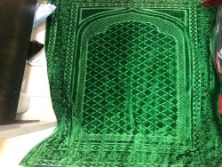poly Jacqured Kedarnath Jacquared Janamaz Knitted Heavy Quality, Packaging Type: In Balw, Size: 28/48