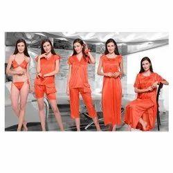 Plain Ladies Night Suits, Size: Free Size