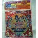 10 Inch Zagmag Rangoli Sticker