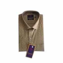Pansun Cotton Men Readymade Printed Shirt
