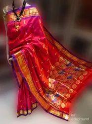 Yeola Paithani Pure Silk Handloom Saree