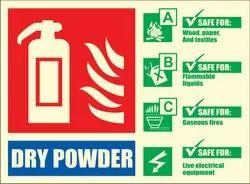 Fire Equipment Signage