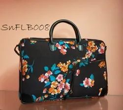 SnF Fabric Cotton Ladies Laptop Bag