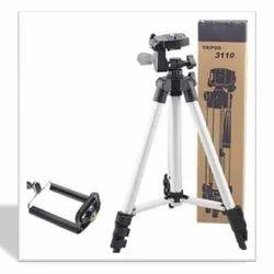 Metallic White Tripod PhoneStand, Size: Medium, Model Name/Number: JGZ-SP-084