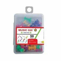 Music 555 Push Pin Box