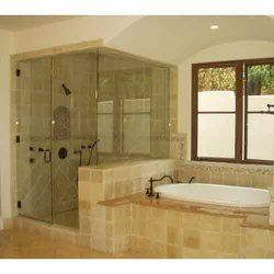 Cubicle Shower Glass