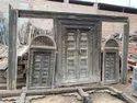 Carved Antique Front Door