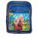 Rubber And Nylon Kids Motu Patlu School Backpack