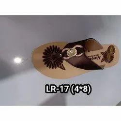 Aircon LR-17 Ladies Fashion Slippers, Size: 4 x 8