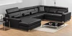 Sectional U Shape Multi Piece Sofa Set