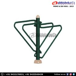 Abhishek Arts Iron Push Up Bars Outdoor Gym, Model Name/Number: AAGE-06