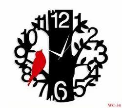 Analog Plastic Wall Clock