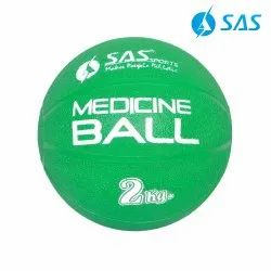 Rubber Medicine Ball 2 Kgs