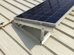 Shed Mounted Solar Structure