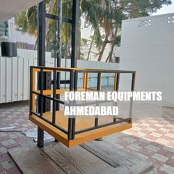 Hydraulic Single Mast Goods Lift - Goods Elevator - Material Lift