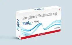 Favipiravir 200 mg Fabiflu Tablets