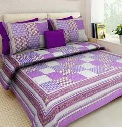 Cotton Bed Sheet With 2 Pillow Covers