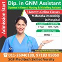 12 Months Online Dip. In Gnm Assistant, Location: New Delhi