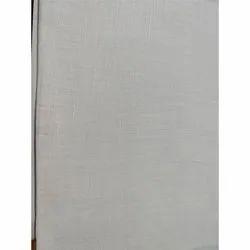 Gray Pure Linen Fabric, GSM: 150