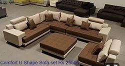 Comfort U Shaped Sofa Set