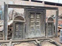 Teak Wood Antique Door