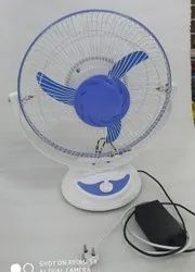 AC-DC RECHARGABLE TABLE FAN