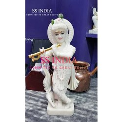 Yashoda Vatsalaya Marble Krishna Statue