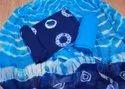 Blue Cotton Women Suits
