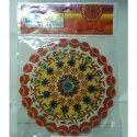 10 Inch Foil Rangoli Sticker