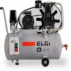 Reciprocating Air Compressor 1 HP 3 Phase 100 L SS01 LB : ELGi