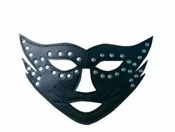 Leather Cat-Man Party Mask