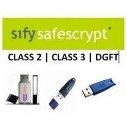 SIFY DGFT DIGITAL SIGNATURE CERTIFICATE (DSC)