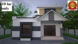 Residential Projects Low Cost House Construction, Thrissur,Kerala, Traditional