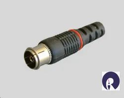 RF Female Connector, Contact Material: Brass