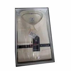 Full Sleeve Mens Cotton Plain Shirt