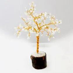 White Color Stone Decorative Ethnic Tree