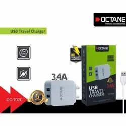 3.4A USB  Travel Charger