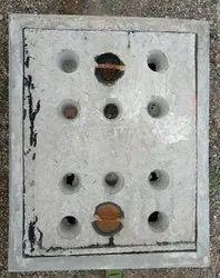 24x18 Inch Medium Duty Grey Iron Manhole Cover