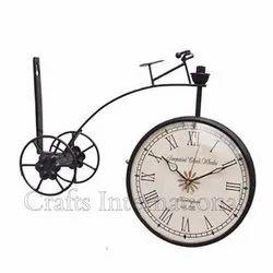 Wooden Black Decorative Clock