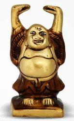 535 gm Brass Laughing Buddha